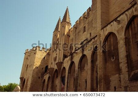 древних · Церкви · Франция · святой · лет · синий - Сток-фото © lianem