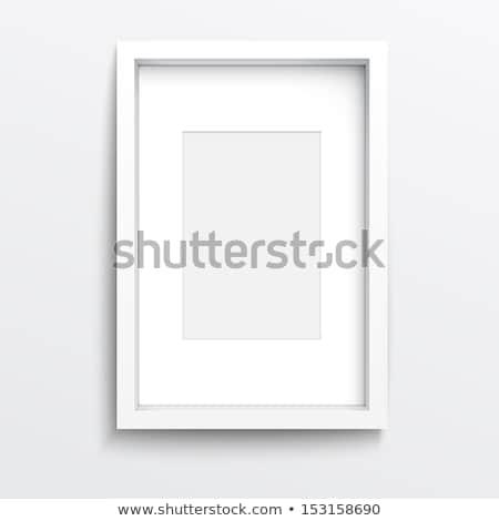 branco · quadro · vetor · eps10 · fundo · pintura - foto stock © Larser