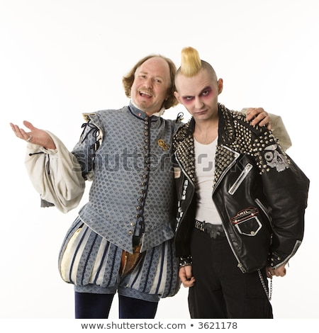 Shakespeare and punk. stock photo © iofoto