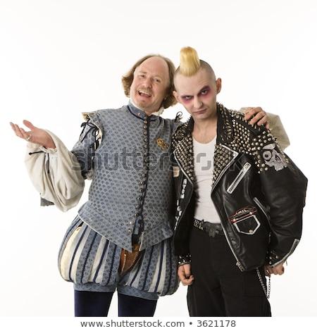 Shakespeare and punk. Stock photo © iofoto