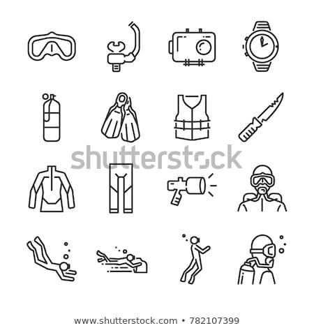 Icon kind slaap vector illustratie Stockfoto © zzve