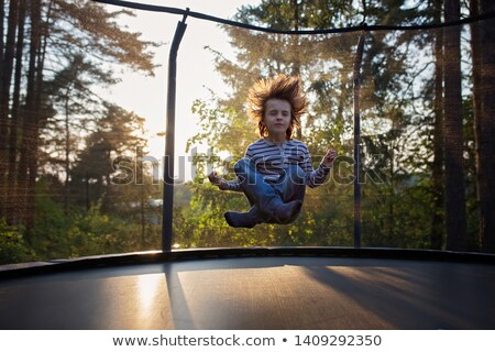 Levitación nino cielo hombre feliz deportes Foto stock © Paha_L