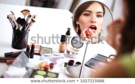 making up woman Stock photo © Marcogovel