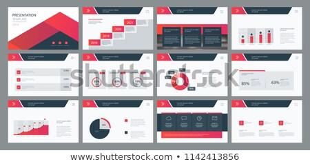 Modern Page Layout Stock photo © ArenaCreative