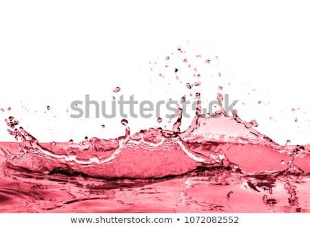 Beyaz şarap dalgalanma bira elma suyu akçaağaç Stok fotoğraf © ArenaCreative