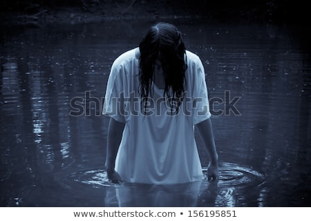 Young Woman Zombie Stock photo © rcarner