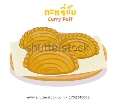 Chicken Puff Stock photo © szefei