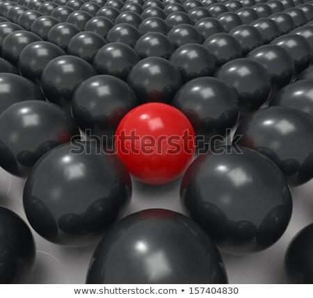 Unique Sphere Showing Uncommon Exception Stock photo © stuartmiles