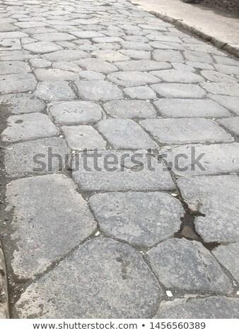 pompeii road stock photo © sailorr