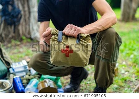 Enfermera médico primeros auxilios atractivo jóvenes Foto stock © AndreyPopov