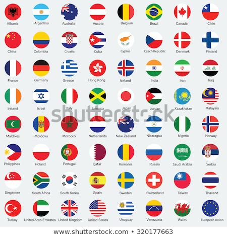 Europe Flag Button Stock photo © burakowski