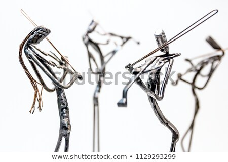 Metal wire and sticks Stock photo © smuay
