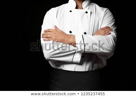 Cuoco primo piano cucina braccia uomo sfondo Foto d'archivio © aetb