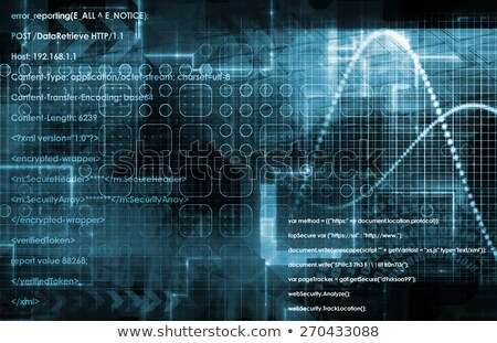 Iptv Concept On Digital Background Foto stock © kentoh