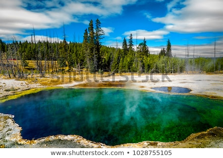 термальная ванна озеро изображение горячей южный Сток-фото © tab62