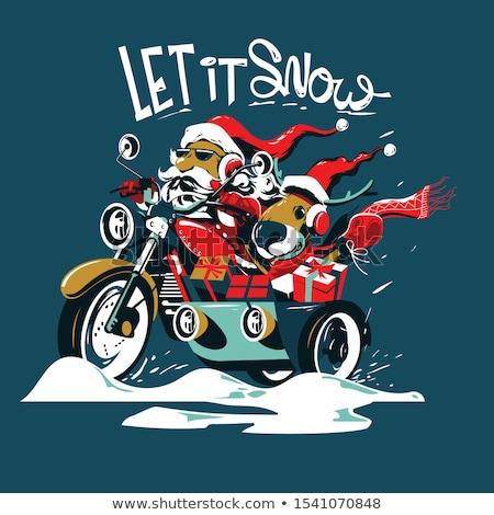 Santa Claus Freedom Stock photo © Lightsource