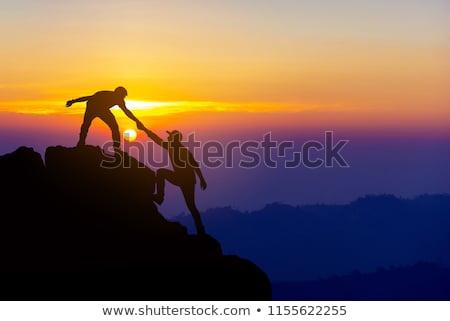 Sunset and Silhouettes Stock photo © suerob