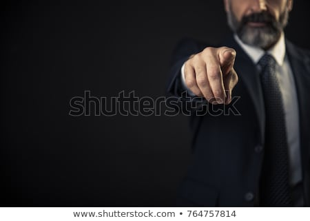 business man pointing his finger at you Stock photo © feedough