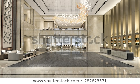Interior View Of Beautiful Luxury Lounge And Dining Room  Stock photo © HighwayStarz