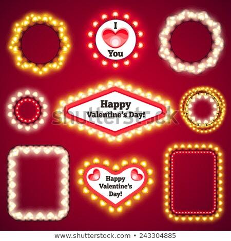 conjunto · decorações · feliz · aniversário · festa · projeto - foto stock © voysla