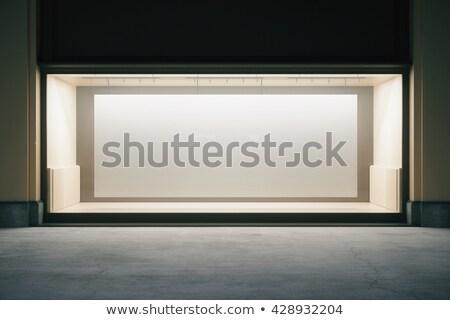 empty shop at night Stock photo © ssuaphoto