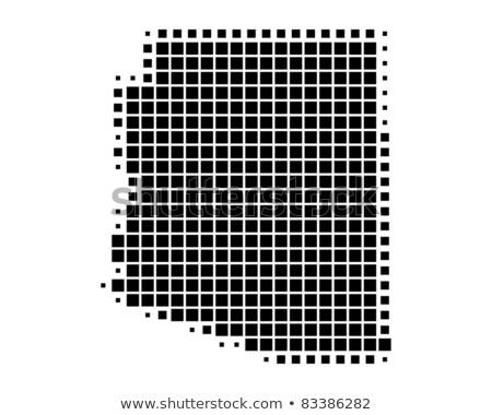 Kaart USA Arizona patroon vector Stockfoto © Istanbul2009