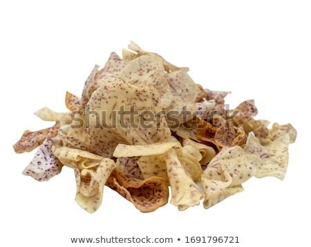Chips Thailand dessert papier voedsel mand Stockfoto © eddows_arunothai
