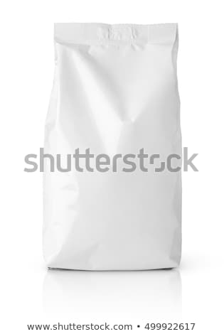 Paper bag with grain coffee  Stock photo © saransk