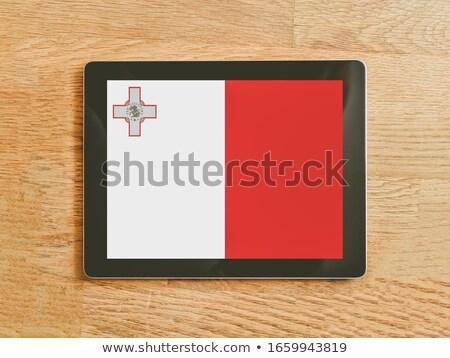 Comprimido Malta bandeira imagem prestados Foto stock © tang90246