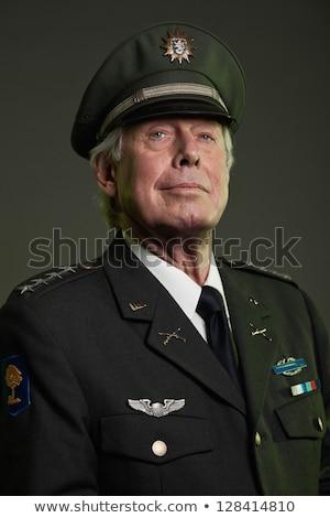 Vieux fonctionnaire blanche Photo stock © superzizie