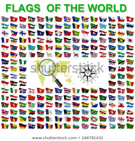 Canada and Myanmar Flags Stock photo © Istanbul2009