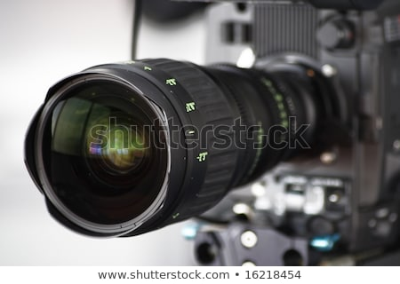 Modern photo and HDV cameras stock photo © Paha_L