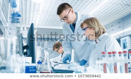 Homme laboratoire assistant vecteur design illustration Photo stock © RAStudio