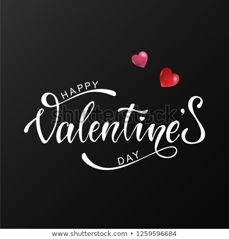 elegant valentines day heart balloons eps 10 stock photo © beholdereye