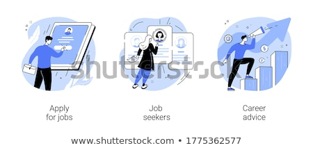 Job App Stock photo © make
