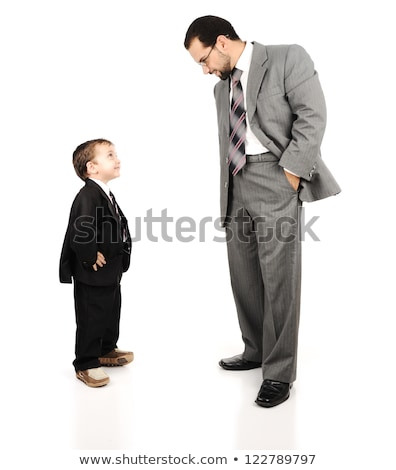 man · volwassen · zoon · familie · woonkamer - stockfoto © zurijeta