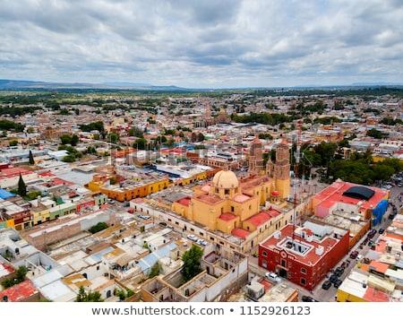мексиканских · флаг · Мексика · сфере · изолированный · белый - Сток-фото © billperry