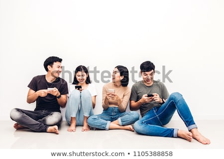 A group of Asian people Stock photo © bluering