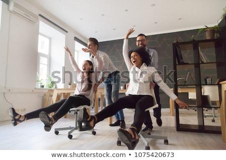 Empresário excelente grupo jato Foto stock © Lightsource