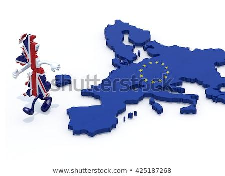 grã-bretanha · europeu · união · decisão · votar - foto stock © sarts