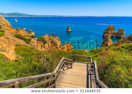 Praia de Alvor in Portimao, Algarve Stock photo © homydesign