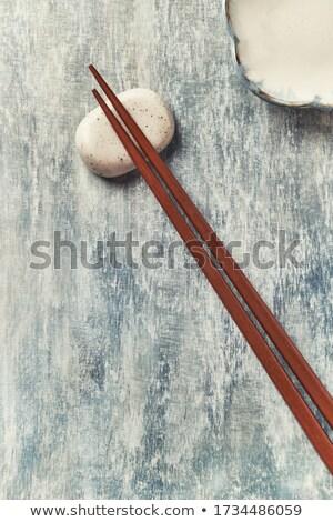 Houten twee decoratief chinese japans Stockfoto © Digifoodstock