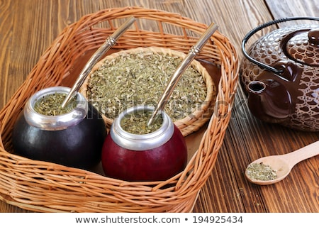 Excited tea – mate. Stock photo © Fisher