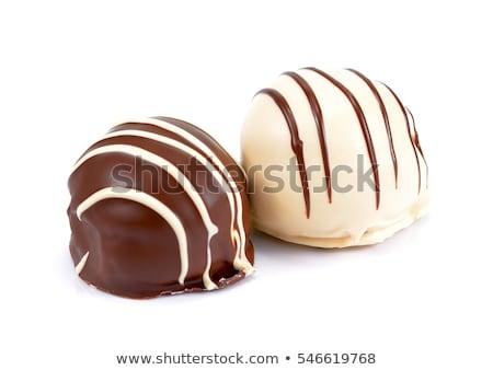 white chocolate praline stock photo © digifoodstock