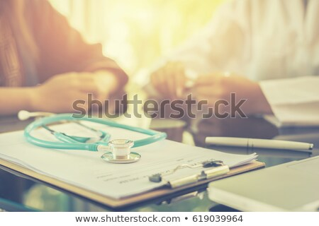 Illness. Medical Concept with Blurred Background. Stock photo © tashatuvango