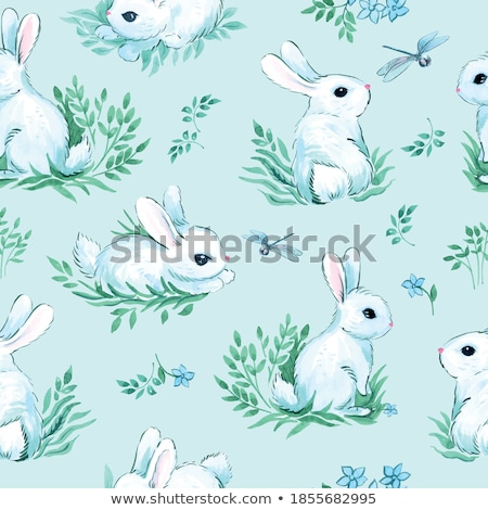 Seamless pattern with easter  stock photo © Olena