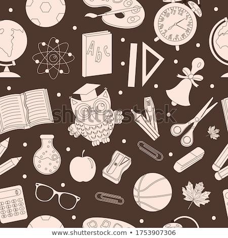 De volta à escola mão desenho rabisco estilo Foto stock © lucia_fox