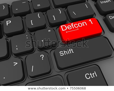 defcon buttons stock photo © milsiart
