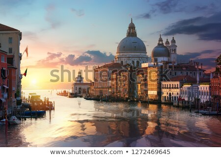 Famous venetian basilica Stock photo © Givaga