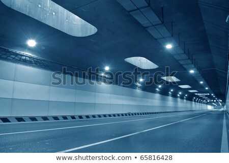 highway in urban tunnel stock photo © ssuaphoto